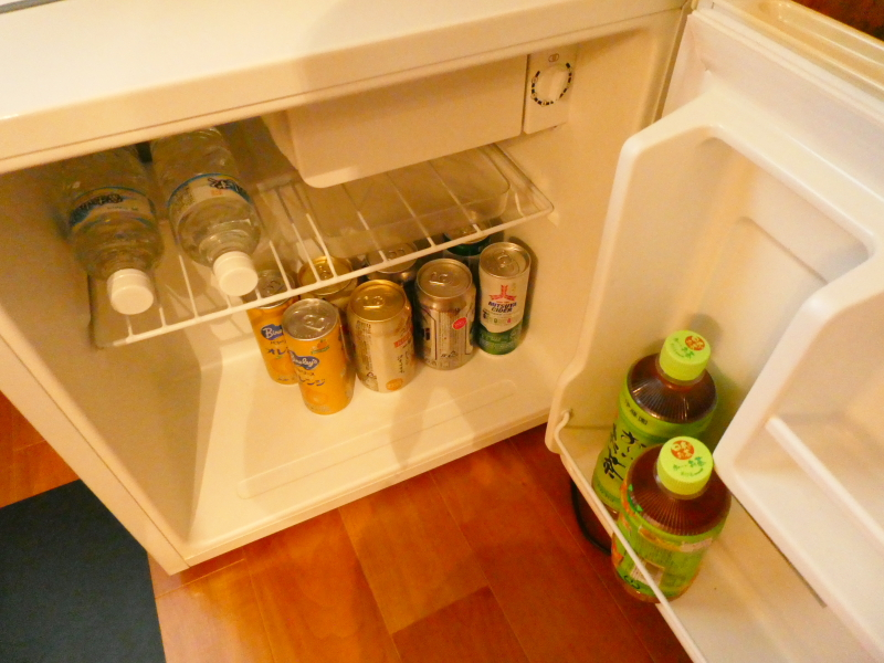 伊豆高原オーベルジュミヨーの冷蔵庫