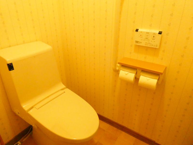 伊豆高原オーベルジュミヨーのトイレ