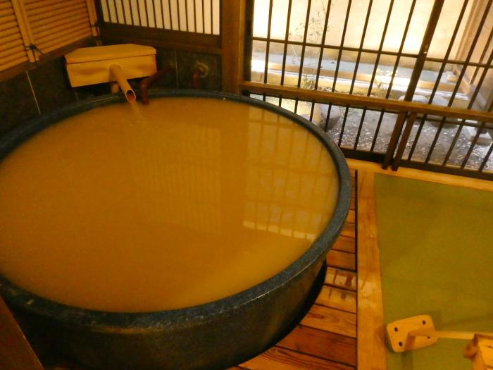 あんこうの宿まるみつの貸切風呂 美泥の湯