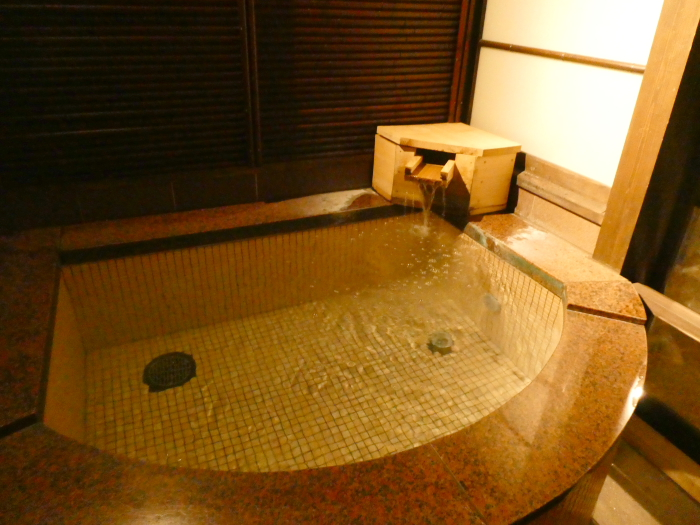 あんこうの宿まるみつの貸切風呂 美泡の湯