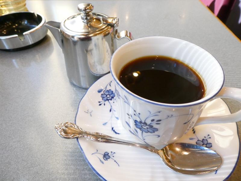 台東区上野にある純喫茶ギャランの珈琲