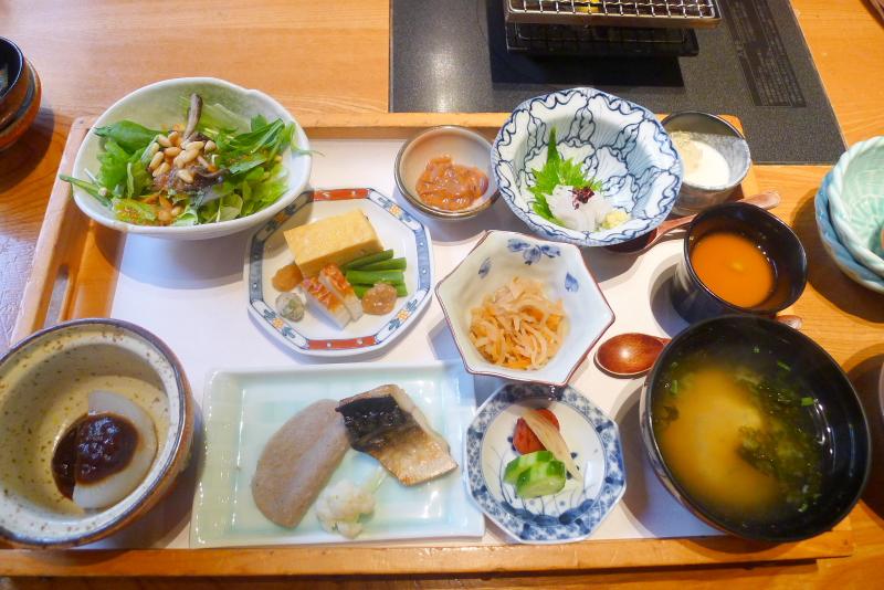伊豆高原_きらの里の朝食「和食」