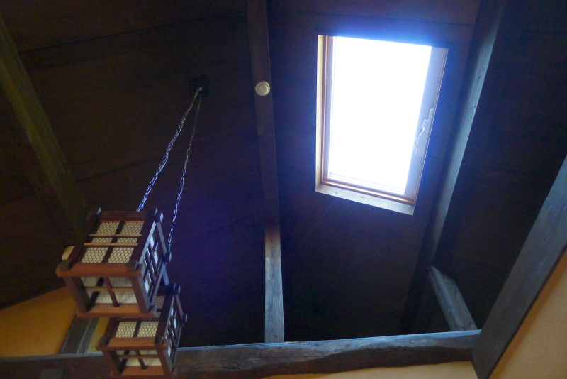 伊豆高原_きらの里の客室「竹ぶえ」の天窓