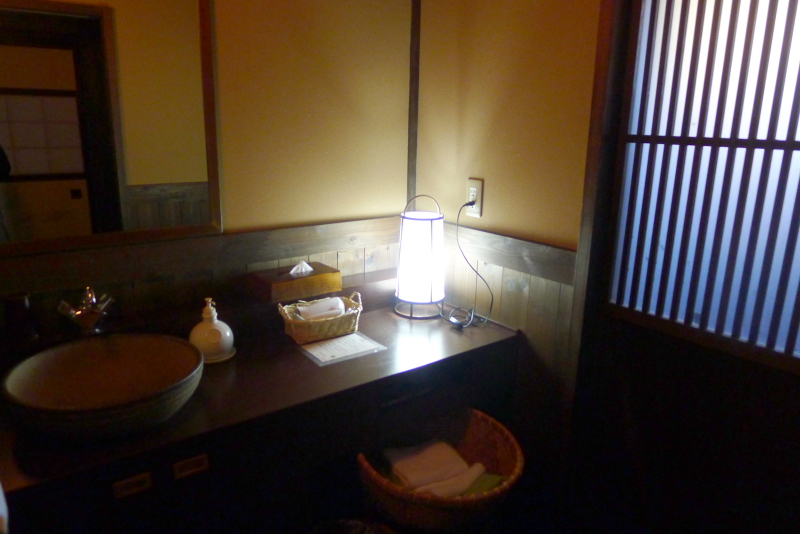 伊豆高原_きらの里の客室「竹ぶえ」のパウダールーム