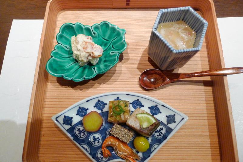 伊豆高原_きらの里夕食「前菜」