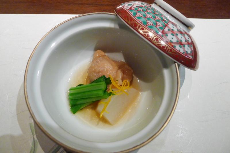 伊豆高原_きらの里の夕食「炊き合わせ」