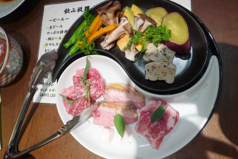 伊豆高原_きらの里のメイン料理「溶岩焼き」