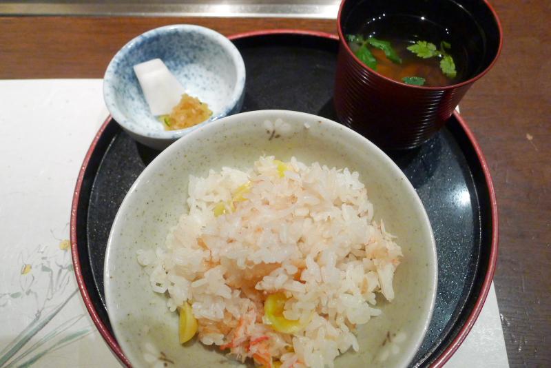 伊豆高原_きらの里の夕食 〆のごはん