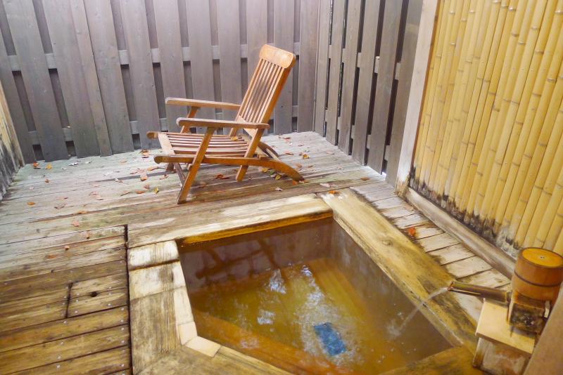 伊豆高原のきらのさとの貸切風呂「竹座」