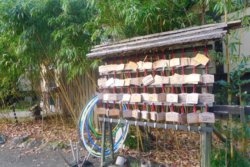 伊豆高原_きらの里 里山に飾られた懐かしいもの