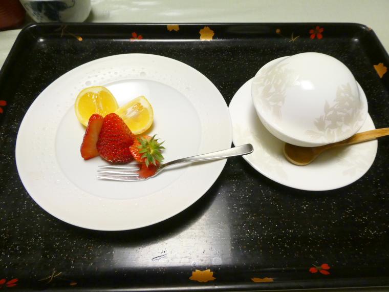 熱海_さくらや旅館_夕食 水菓子