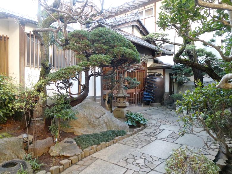 熱海_さくらや旅館のお庭