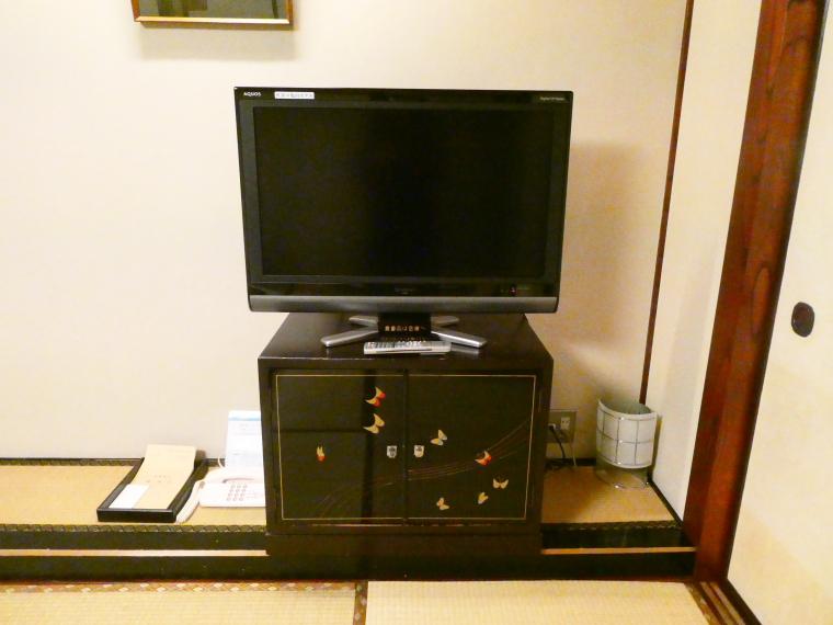 熱海_さくらや旅館輪島のテレビ