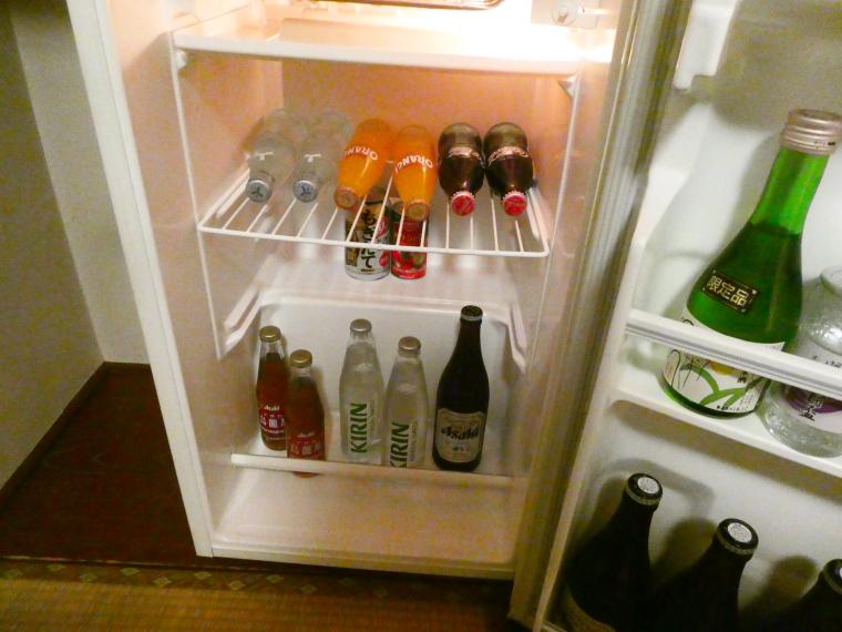 熱海_さくらや旅館 輪島の冷蔵庫