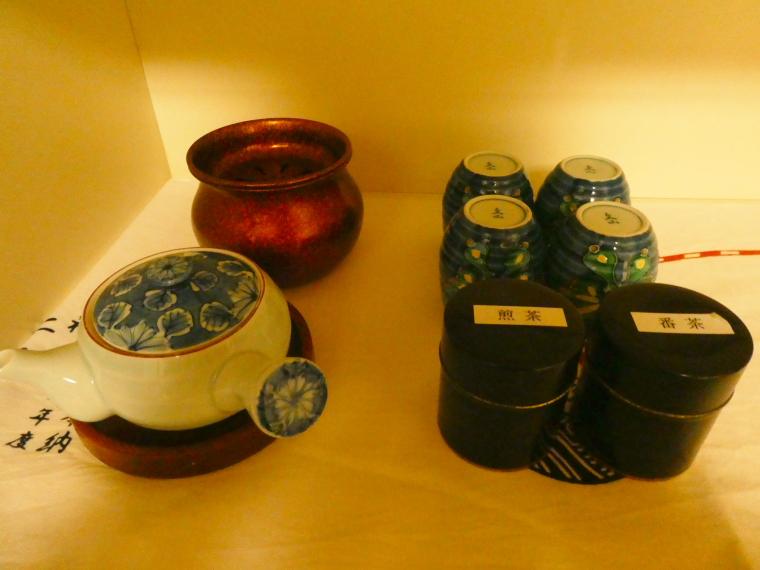 熱海_さくらや旅館 輪島のお茶セット