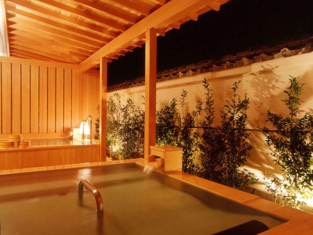 さくらや旅館 海星の湯露天風呂 寝湯