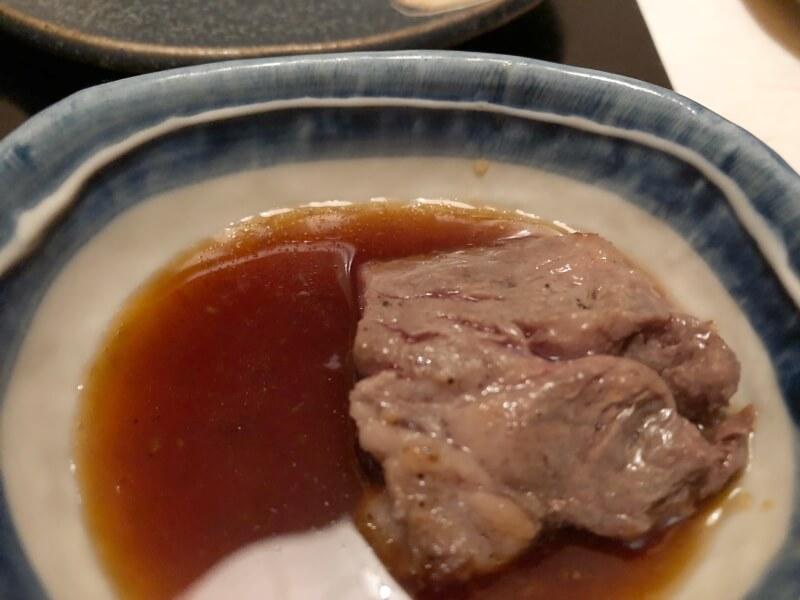 伊豆高原_茄子のはな 夕食ステーキ