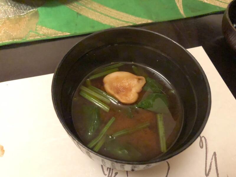 伊豆高原_茄子のはな 夕食の赤出汁