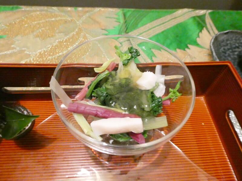 伊豆高原_茄子のはな 夕食 前菜
