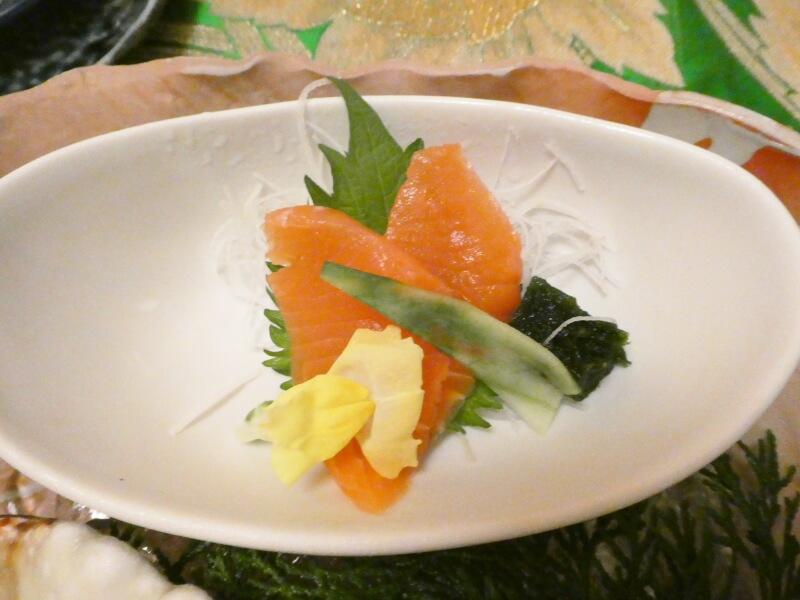 伊豆高原_茄子のはな 夕食の御造り