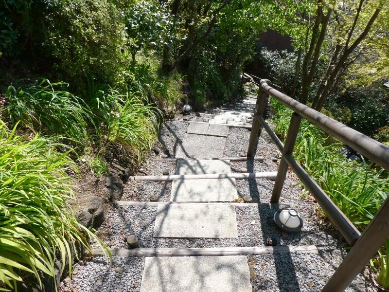 伊豆高原_茄子のはな 階段