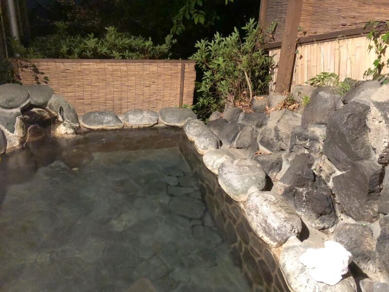 伊豆高原_茄子のはな まめの間専用露天風呂