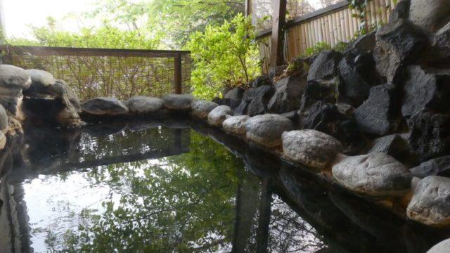 伊豆高原_茄子のはな まめの間の専用露天風呂
