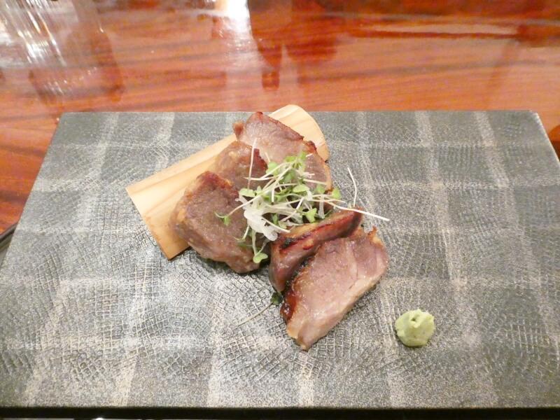 伊香保温泉 香雲館の夕食 替り皿