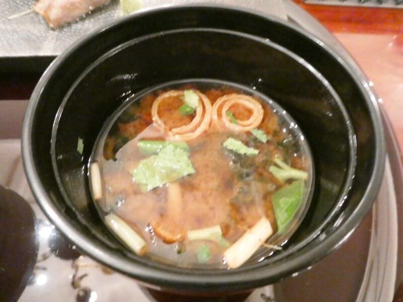 伊香保温泉にある香雲館の夕食 替り皿