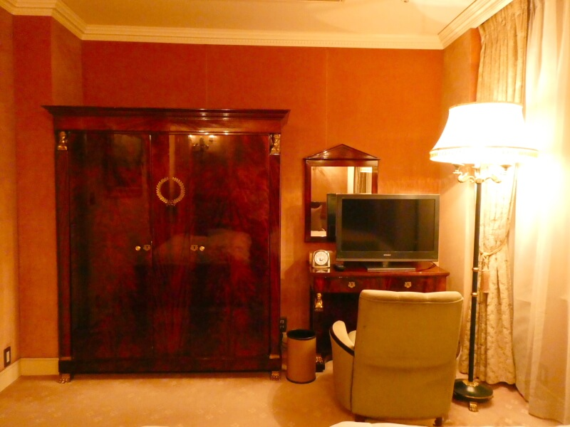 伊香保温泉香雲館の貴賓室「銀閣」の寝室