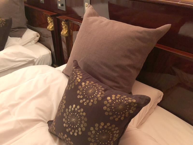 伊香保温泉香雲館の貴賓室「銀閣」 寝室
