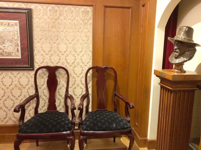 伊香保温泉香雲館の貴賓室「銀閣」寝室