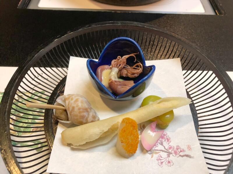 白布温泉_別邸山の季 前菜