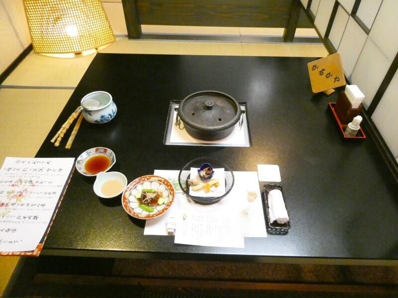 白布温泉_別邸山の季 夕食