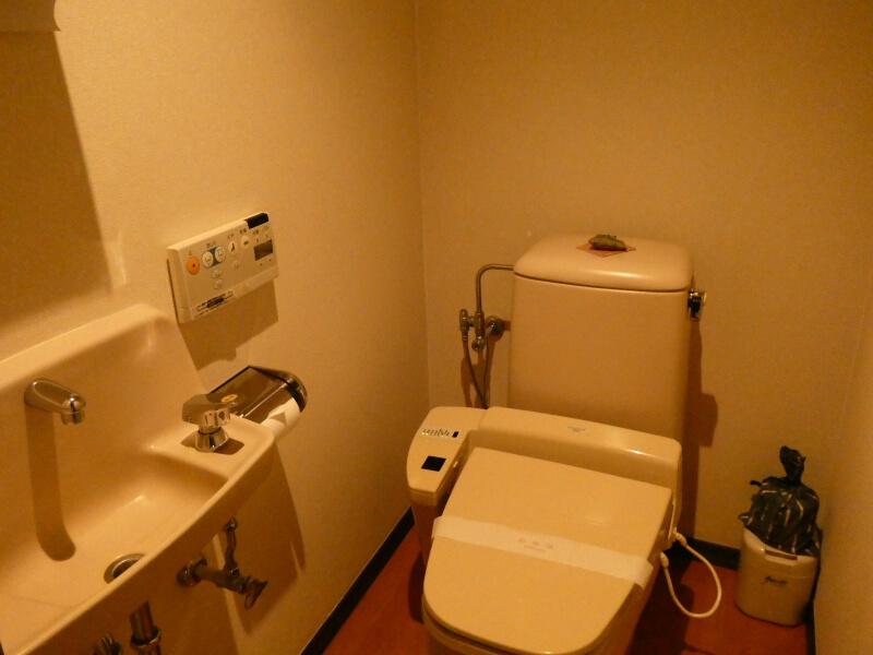 白布温泉_別邸山の季 客室かるかやのトイレ