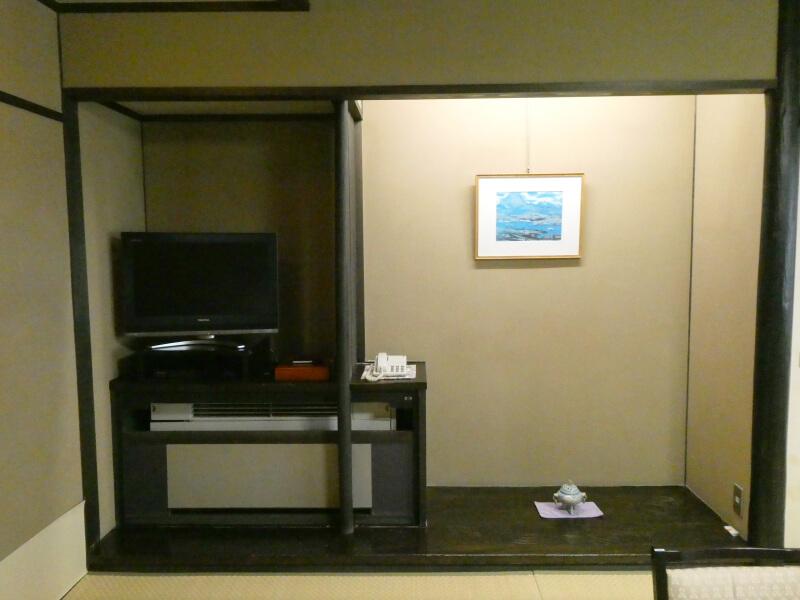 白布温泉_別邸山の季 客室かるかやの床の間
