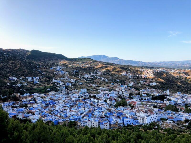モロッコ旅行_アトラスシャウエン