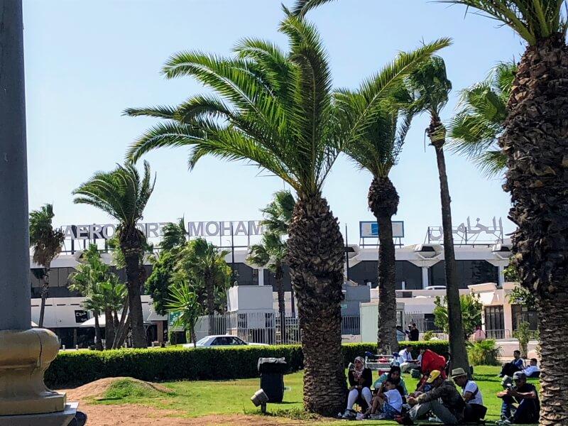 モロッコ旅行 カサブランカ空港
