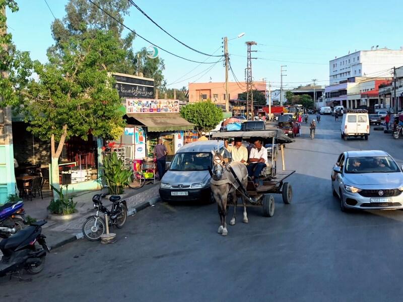 モロッコ旅行カサブランカからシャウエンへの道のり