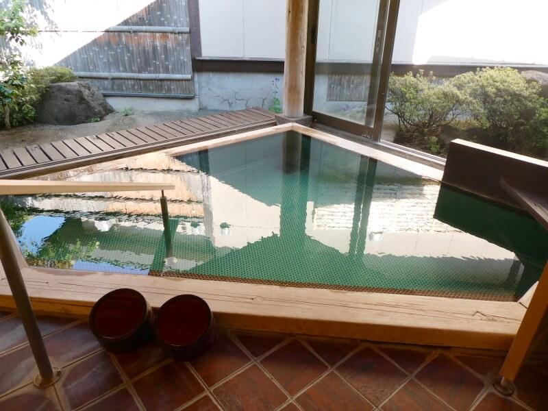赤湯温泉森の湯の大浴場