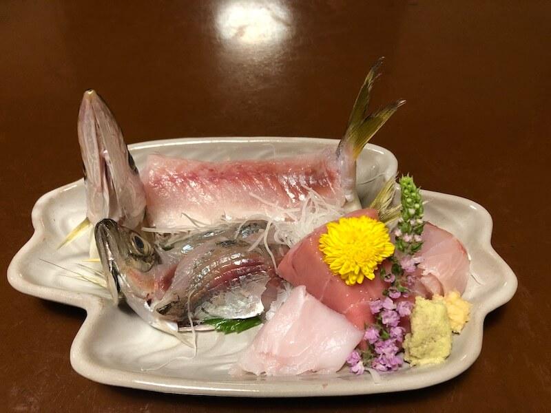 熱海温泉 新かどやの夕食