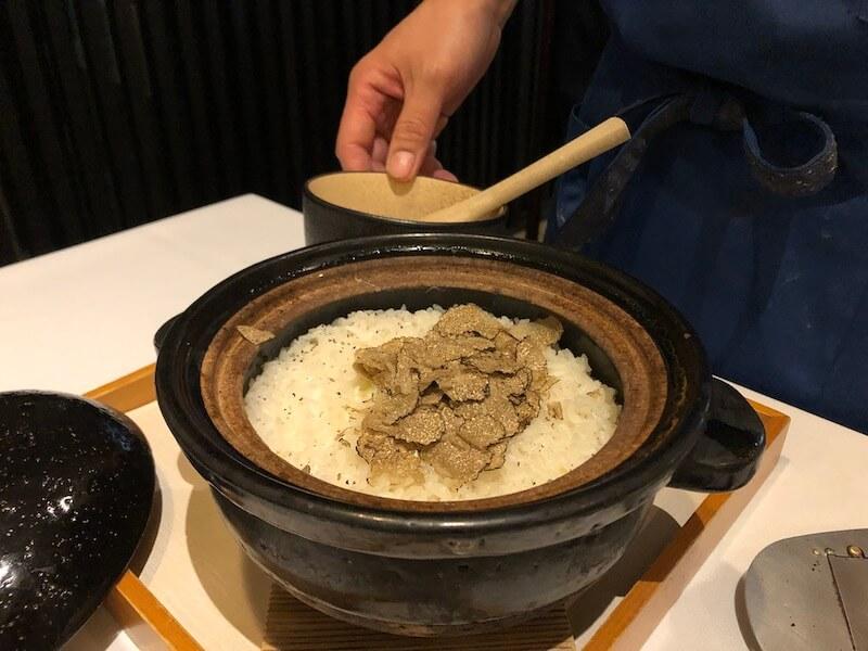 湯河原温泉 オーベルジュ湯楽の夕食